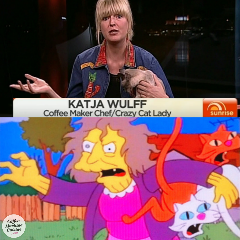crazy cat lady simpsons